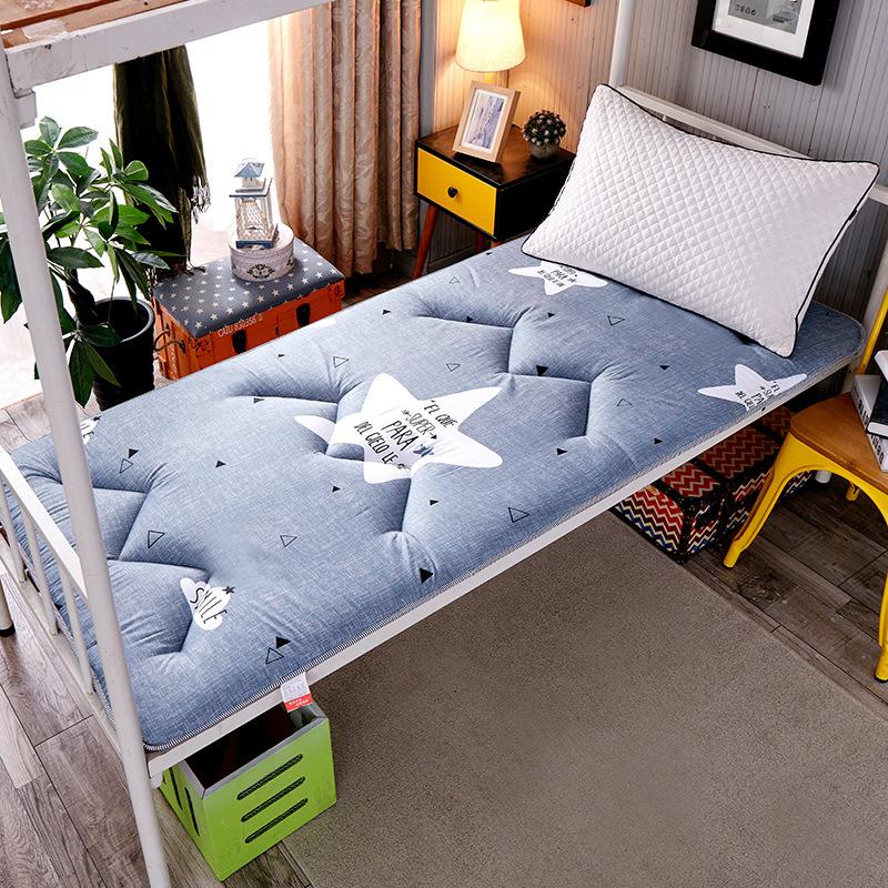 2020新款亲肤棉印花床垫学生垫 加厚床垫榻榻米床垫宿舍床垫