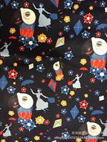Прямая фабрика Shumei silk spring интерьер спин копия Отпечатанная тканевая подкладка товар в наличии поставка цвет Печать попугаев песни