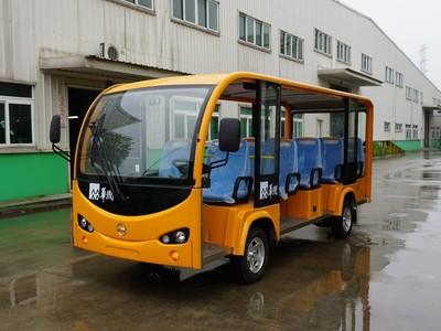 衢州电动观光车生产厂家 新能源电瓶观光车 14座游览车
