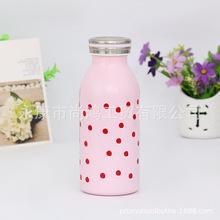 畅销热款不锈钢双层无尾真空一代保温保冷牛奶杯礼品杯广告杯定制