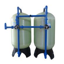 10吨玻璃钢过滤罐 地下水井水除铁锰过滤设备 去除铁腥味