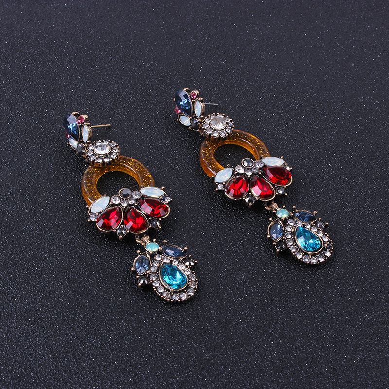 Alloy Fashion Geometric earring  (color) NHNMD4662-color