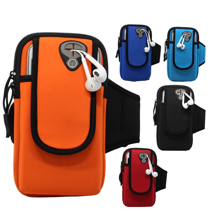 Sports outdoor arm bag mobile phone arm with iPhone8 arm bag men and women sports running fitness bag mobile phone arm bag