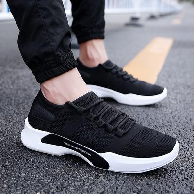 Giày thể thao Nam mùa hè bay dệt breathable giày thường Hàn Quốc phiên bản của xu hướng của thương mại nước ngoài giày đơn sinh viên lưới giày chạy
