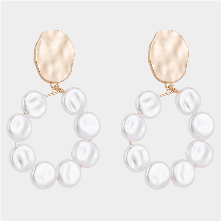 Alloy Simple Geometric earring  (Alloy) NHWF3374-Alloy