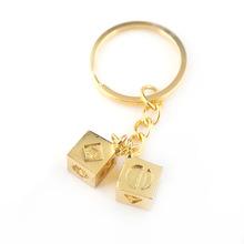 星球最后的絕地武士游俠漢索羅鑰匙扣Han Solo骰子立方玩具