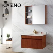 出口?#20202;?#19981;锈钢卫浴柜新款欧式组合卫浴柜定制人造石浴室柜批发