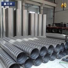 廠家鍍鋅螺旋風管不銹鋼排風管板白鐵皮排煙管煙道管通風管道設備