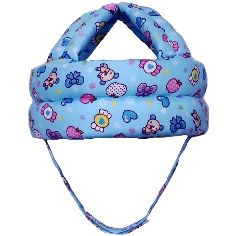 贝乐兹宝宝学步帽安全帽婴儿防摔帽护头帽防撞帽一件代发新款多色