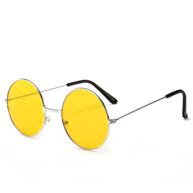 แว่นตาวินเทจทรงกลม