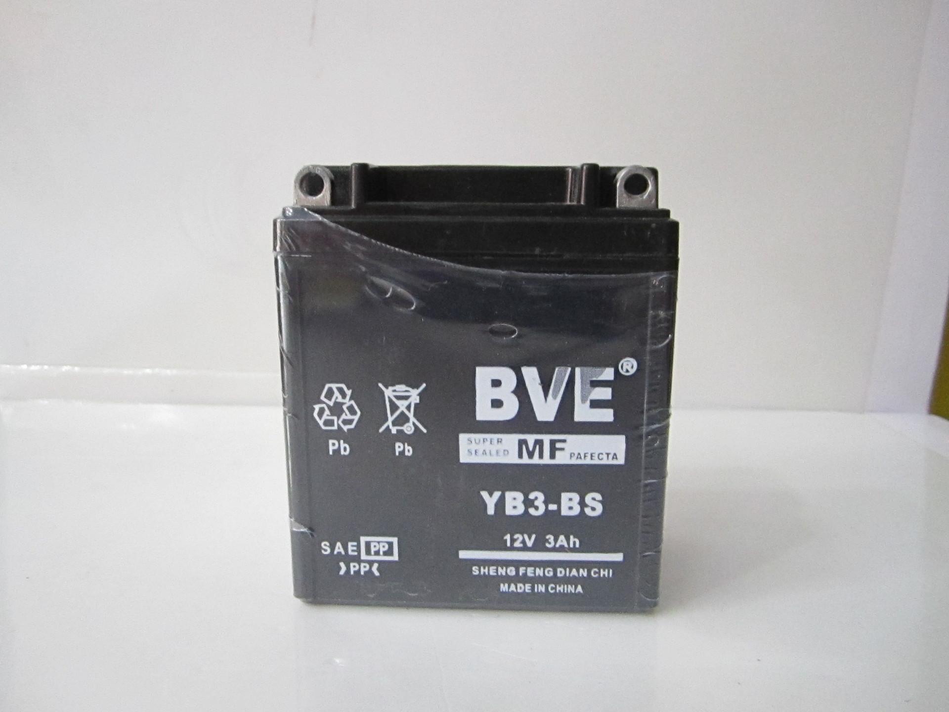 摩托车电瓶12N3免维护CG125专用正品包邮五羊本田摩托车启动电池