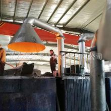 厂家定制脉冲式低频电炉布袋除尘器铸造厂浇注打磨中频炉除尘设备