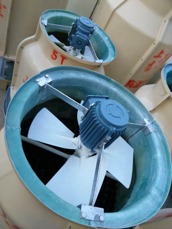 工厂直销供应浙江3T吨高温型圆形逆流式冷却塔
