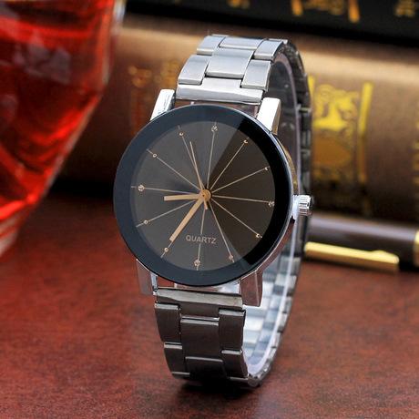 Đồng hồ đeo tay dây thép nóng đeo đồng hồ đeo tay hợp kim sao băng