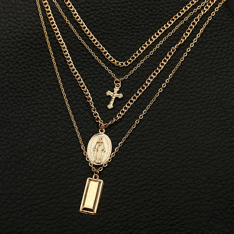 Alloy Fashion Cross necklace  Alloy NHGY2140Alloy