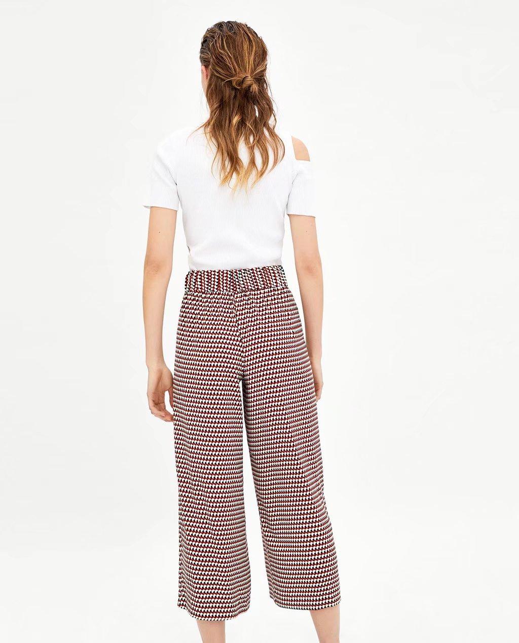 Polyester Fashionpants(Picture color -S) NHAM2195-Picture color -S