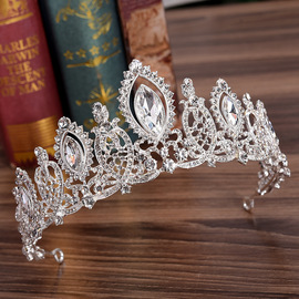 H1087 new bridal tiara Continental crystal rhinestone crown wedding hair accessories headband wedding dress accessories