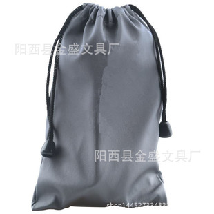 Wholesale rectangular waterproof cloth bag 10*16cm electronic product bag mobile phone camera mobile power bag