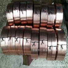 昆山现货供应T2 TU2紫铜带 圆线5.0mm 扁线2.6*1.4*6mm异形扁线