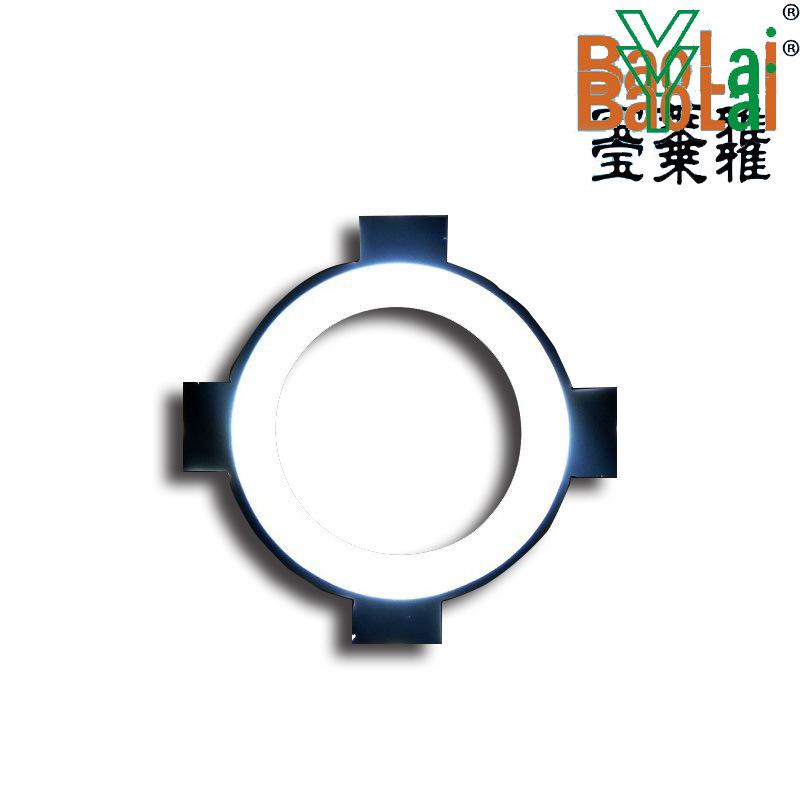 led导光板厂家订做 超薄灯箱导光板亚克力激光打点导光片透明发光