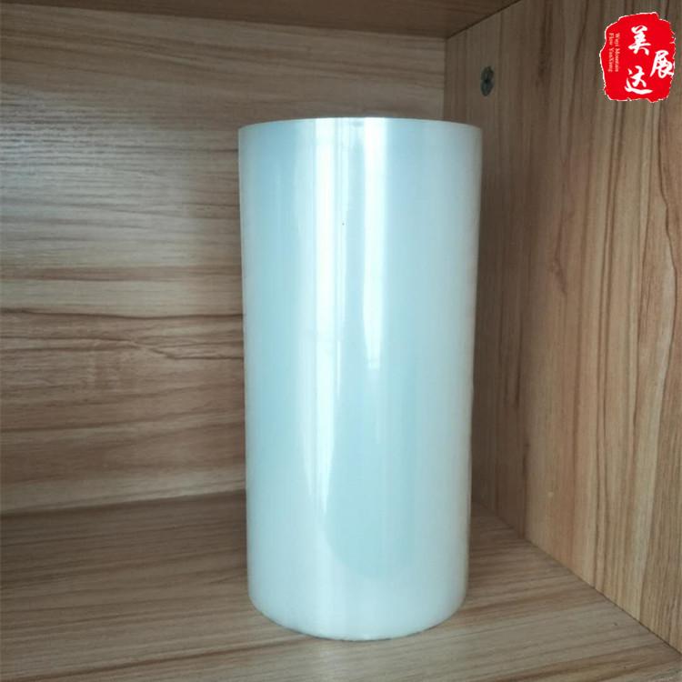 PE高粘网纹保护膜 透明网纹高粘保护膜粘性厚度规格可选厂家供应
