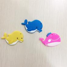塑膠廠家定制 個性創意PVC冰箱貼 小動物企業形象logo磁性冰箱貼