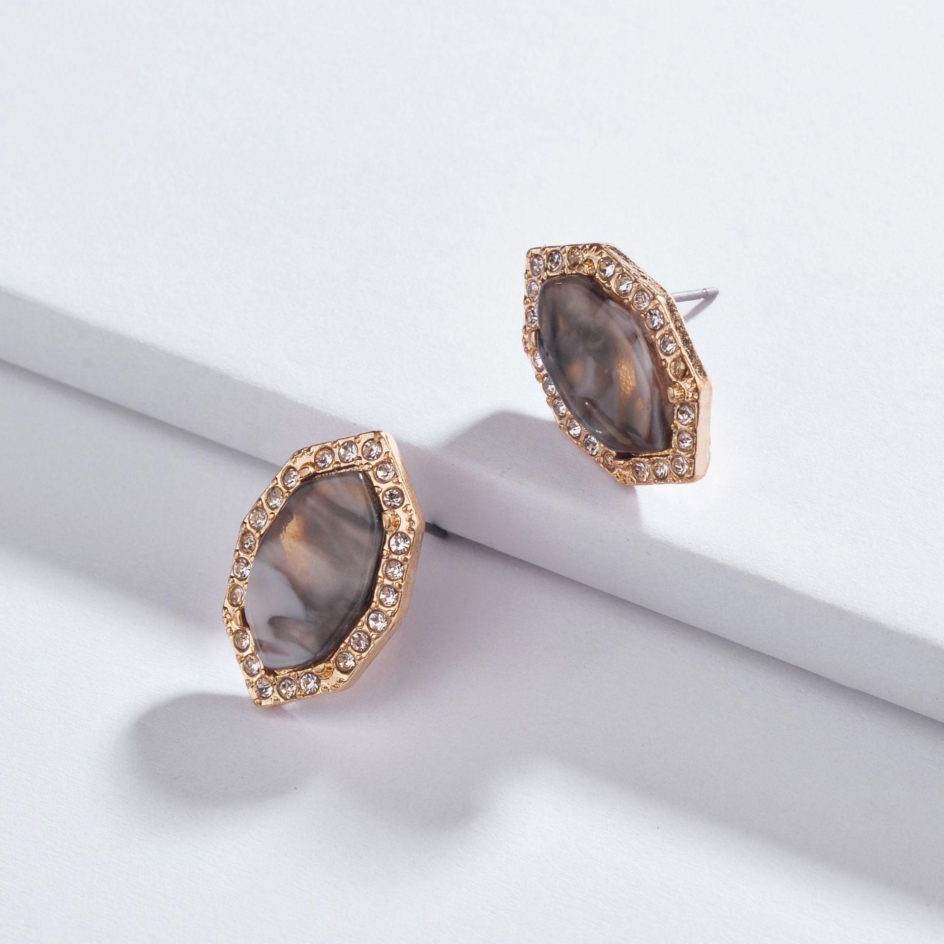 Alloy Fashion Geometric earring  1 NHLU02621