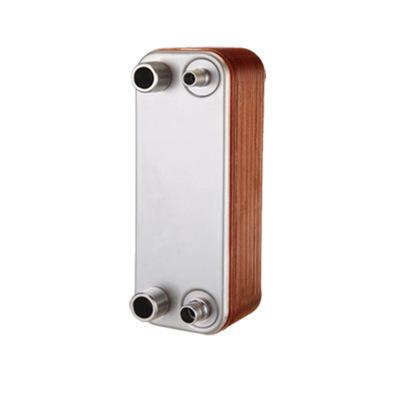 厂家定制换热器 不锈钢家用换热器 水供暖暖气钎焊板式热交换器