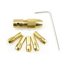 微型电钻自紧钻夹头 小电钻钻头夹 手电钻小电磨木工黄铜钻夹夹头