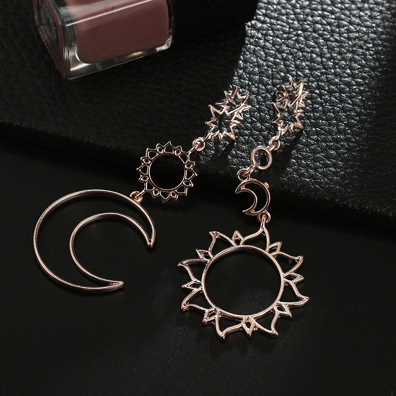 Alloy Simple Geometric earring  (Alloy) NHGY2390-Alloy