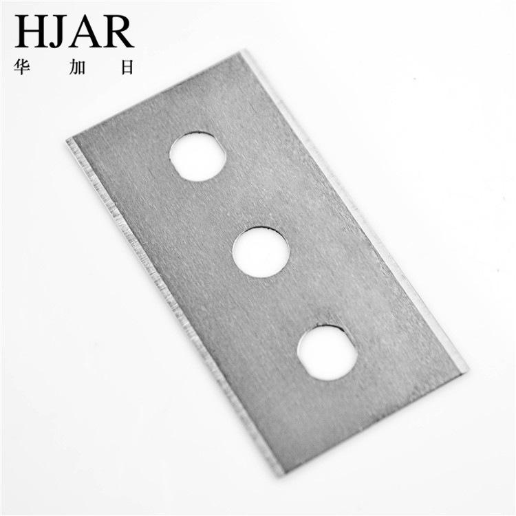 碳鋼 三孔刀片 薄膜刀 纖維刀片 分條刀片 雙面刀片 分切刀片