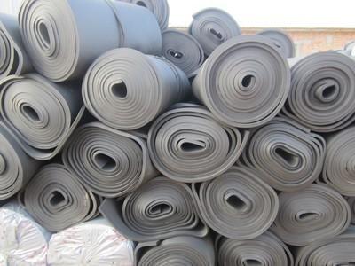 厂家供应橡塑保温管 铝箔橡塑海绵板 橡塑保温板 橡塑板