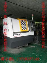 广东台荣厂家生产高精密侧铣动力头平床身微型数控车床