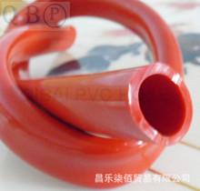 PVC紅色流體軟管 花園澆水輸油水氣 無毒無味 四季柔軟 工廠直銷