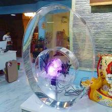 工厂直销 亚克力鱼缸 生态创意小型鱼缸 新潮观赏鱼缸水箱族