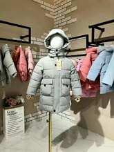 时尚韩版潮童冬装商场专柜原单正品武林兵团棉服