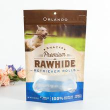 通用猫粮狗粮袋自封自立袋定制logo便携宠物饲料袋真空食品包装袋