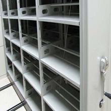 双柱式密集架选江西瑞鑫款式新颖档案室资料存放架手摇移动柜厂家