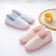 Giày bà bầu mang giày bà bầu sau dép chống trơn trượt mùa xuân, mùa hè và mùa thu mềm trong nhà dép đi trong nhà Giày cotton tại nhà