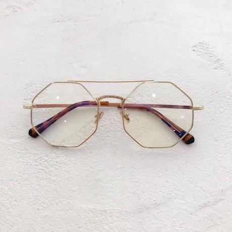 2018 phiên bản Hàn Quốc hình kim cương mới của kính gọng tròn mặt kính retro có thể được trang bị kính cận thị
