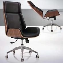 厂家直销真皮老板椅 欧式高背升降旋转大班椅办公电脑大班椅外贸