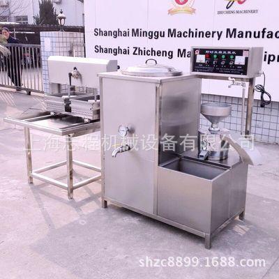 80#大型石磨豆浆机 商用花生豆腐机 自动豆浆机 双排豆腐成型机