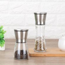 304 thép không gỉ ớt hạt tiêu xay kính tiêu xay máy xay cà phê là bằng tay kính Gia vị