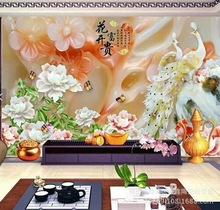 电视背景墙 微晶石暗藏金工艺  雕刻 平面UV背景墙