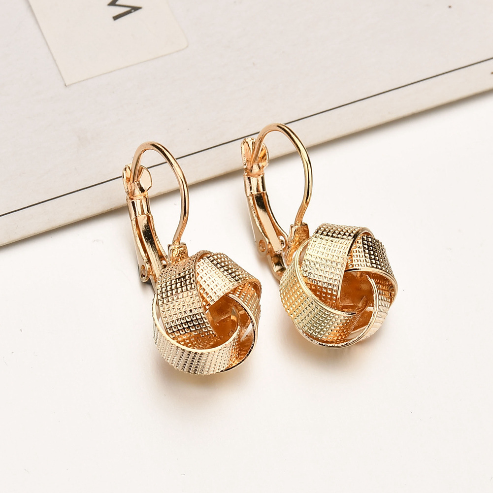 Alloy Fashion Geometric earring(JE18001) NHBQ1246-JE18001
