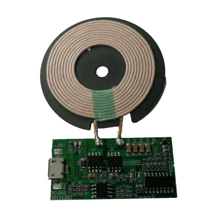 无线充电器PCBA手机充电器隔空感应快速发射快充模块定制开发