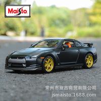 Maisto штатный 1:24 2009 стиль Спортивный автомобиль Nissan GTR Ares копия Реальная модель модели сплава