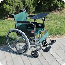 鱼跃轮椅H005折叠轻便便携老年人残疾人手推车充气胎代步车助行器