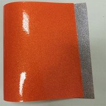 厂家直销超薄PVC闪粉格利特皮革 闪粉光胶PVC面料 手袋包边用