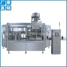 四合一玻璃瓶果汁饮料等压灌装机 碳酸饮料生产机械设备供应商